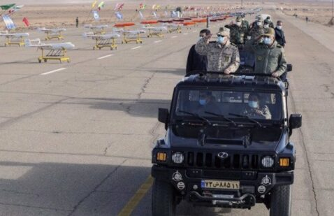 When Iran's drone exercise is under way, senior Iraqi officials warned the United States that the army is ready to go.